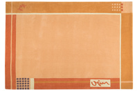 μοντέρνο χαλί,μηχανής,πορτοκαλί