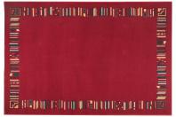 μοντέρνο χαλί,μηχανής,ολόμαλλο,κόκκινο