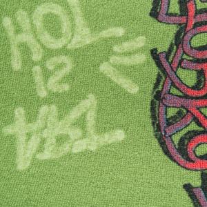 παιδική μοκέτα,graffiti 25,πράσινη