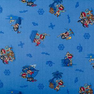 παιδική μοκέτα,pirates 77 B,μπλε