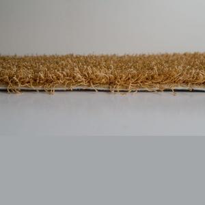 Συνθετική μοκέτα shaggy με οικολογικό υπόστρωμα. Διαθέτει χαμηλό πέλος για εύκολο καθαρισμό. Διαθέσιμη σε σομόν χρώμα.