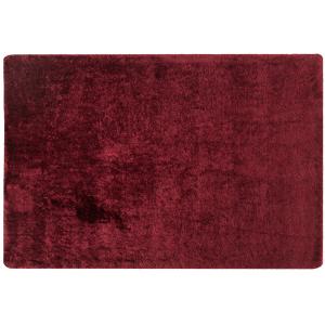 χαλί handtufted, κόκκινο σκούρο, kuber