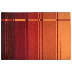 μοντέρνο χαλί,μηχανής,πορτοκαλί,κόκκινο
