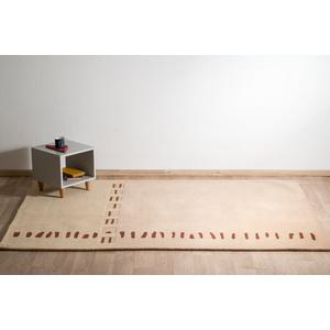 μοντέρνο χαλί,μηχανής,μάλλινο,μπεζ